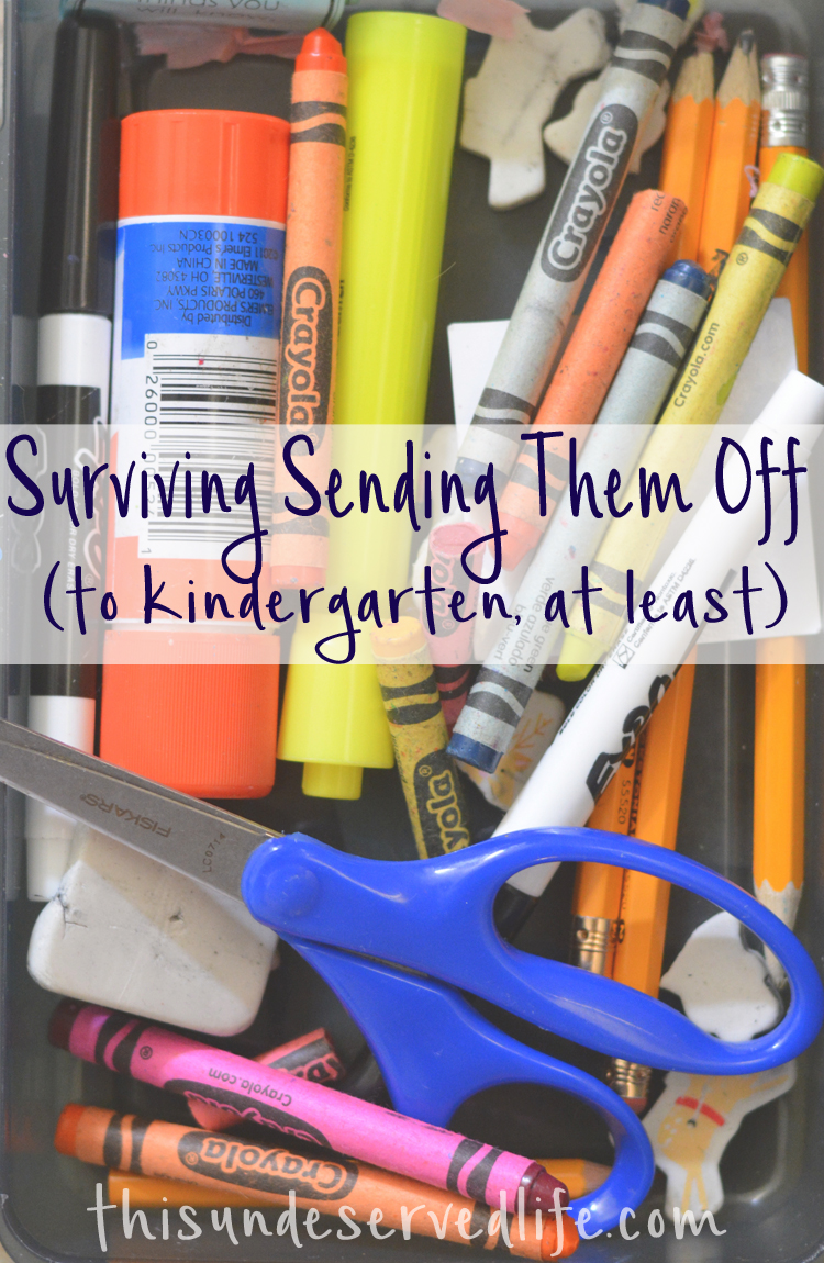 Surviving Sending Them Off (To Kindergarten, at Least)