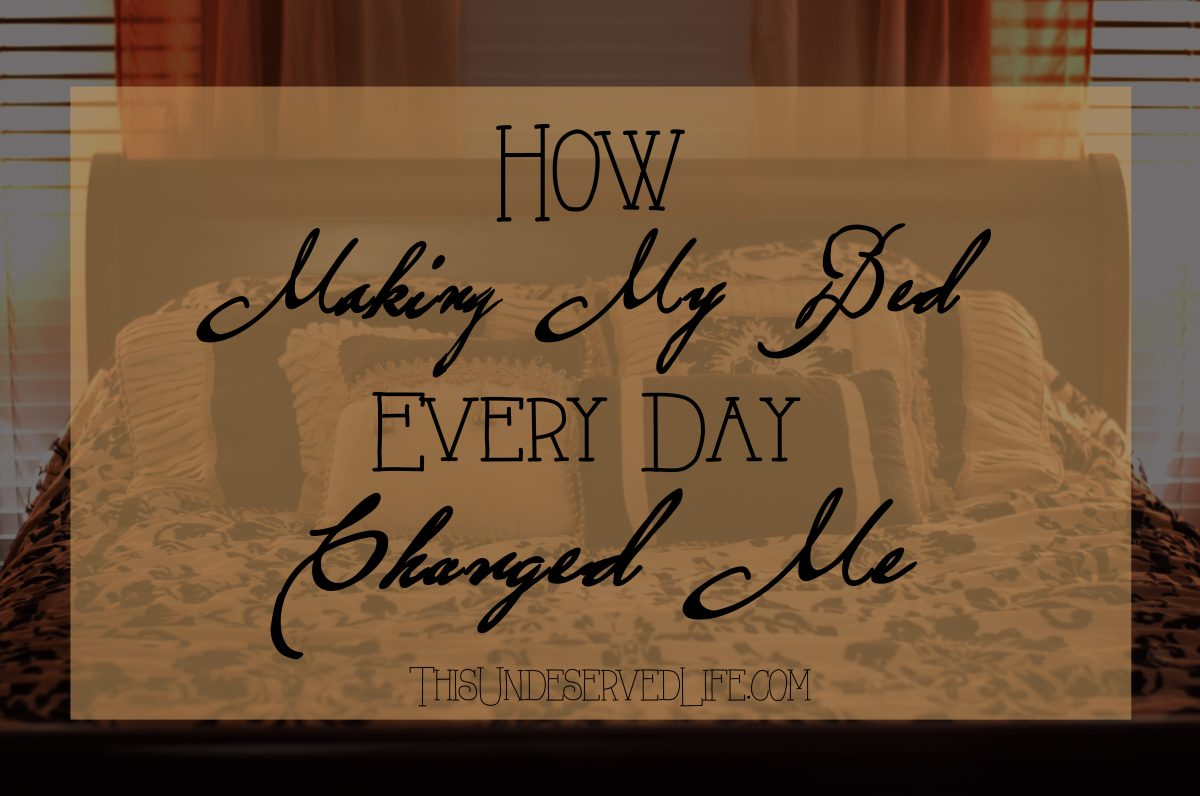 How Making My Bed Every Day Changed Me