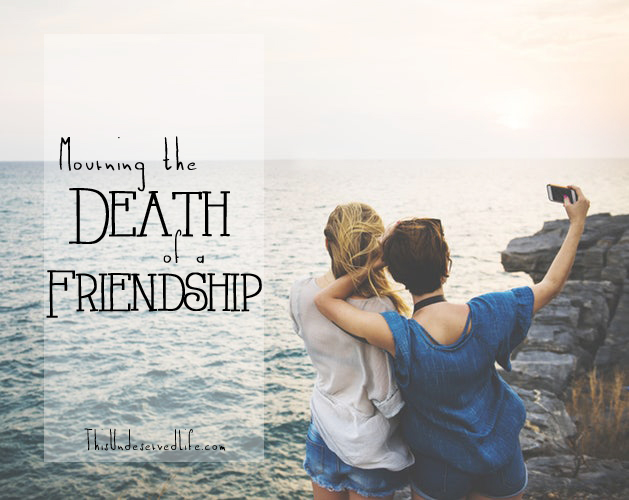 Inspirational Quotes About Death Of A Best Friend Image: Mourning The Death Of A Friendship